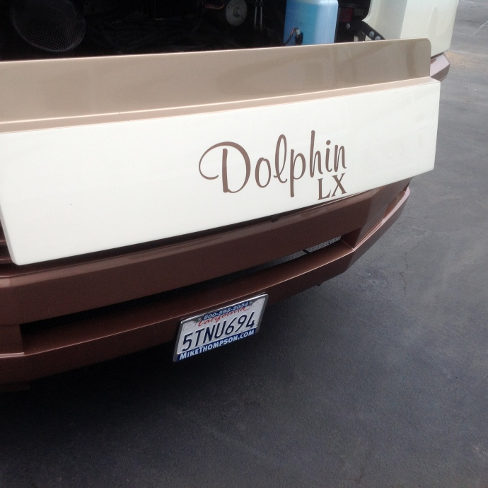 Front end of the Dolphin 2006 model