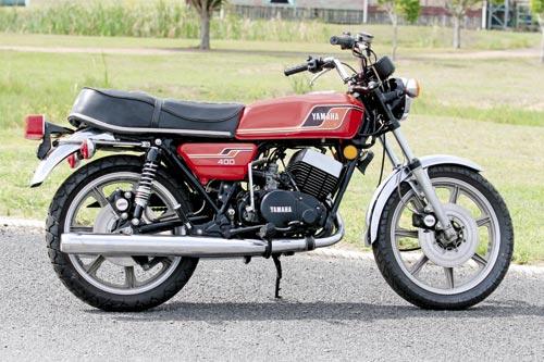 The Yamaha RD 400